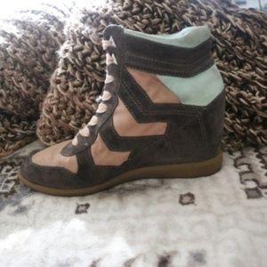Sam Edelman Bennette Wedge Sneaker RIGHT SHOE ONLY